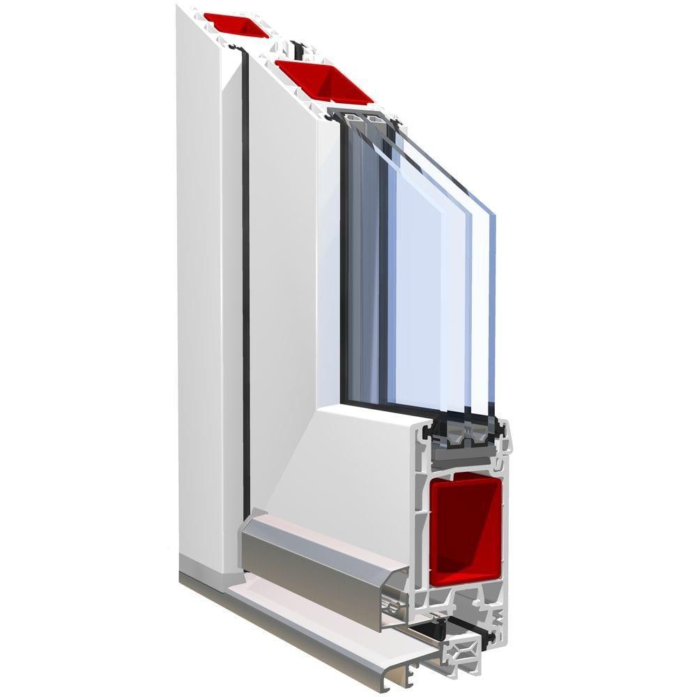 Двернная профильная система Двери 58_мм