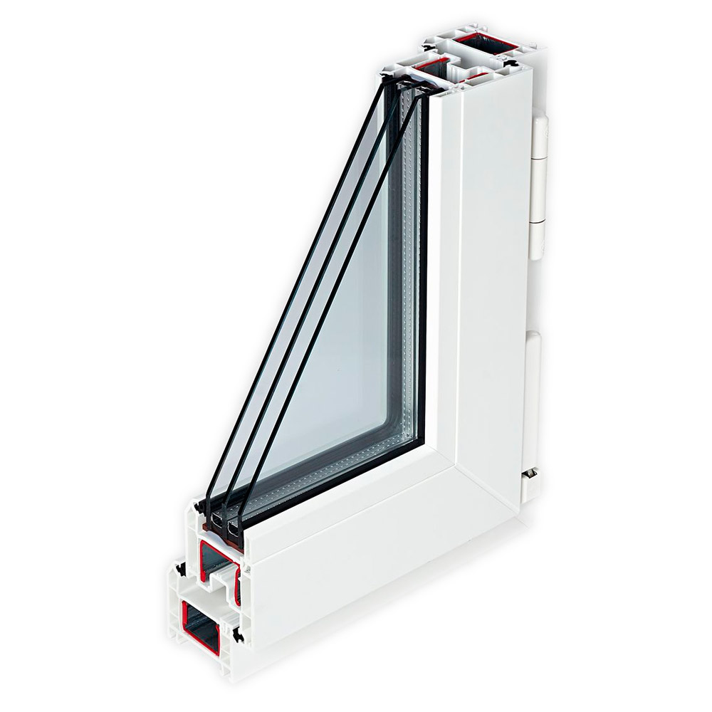 Окна из профилей REHAU BLITZ New
