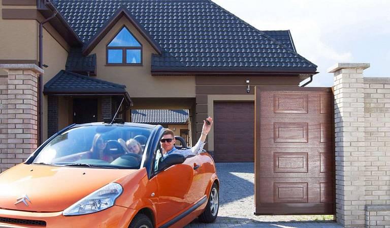 Автоматический вариант управления гаражных ворот