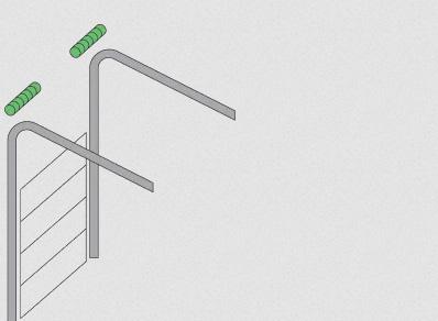Высокий тип монтажа гаражных ворот